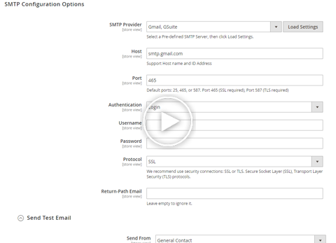 smtp preview