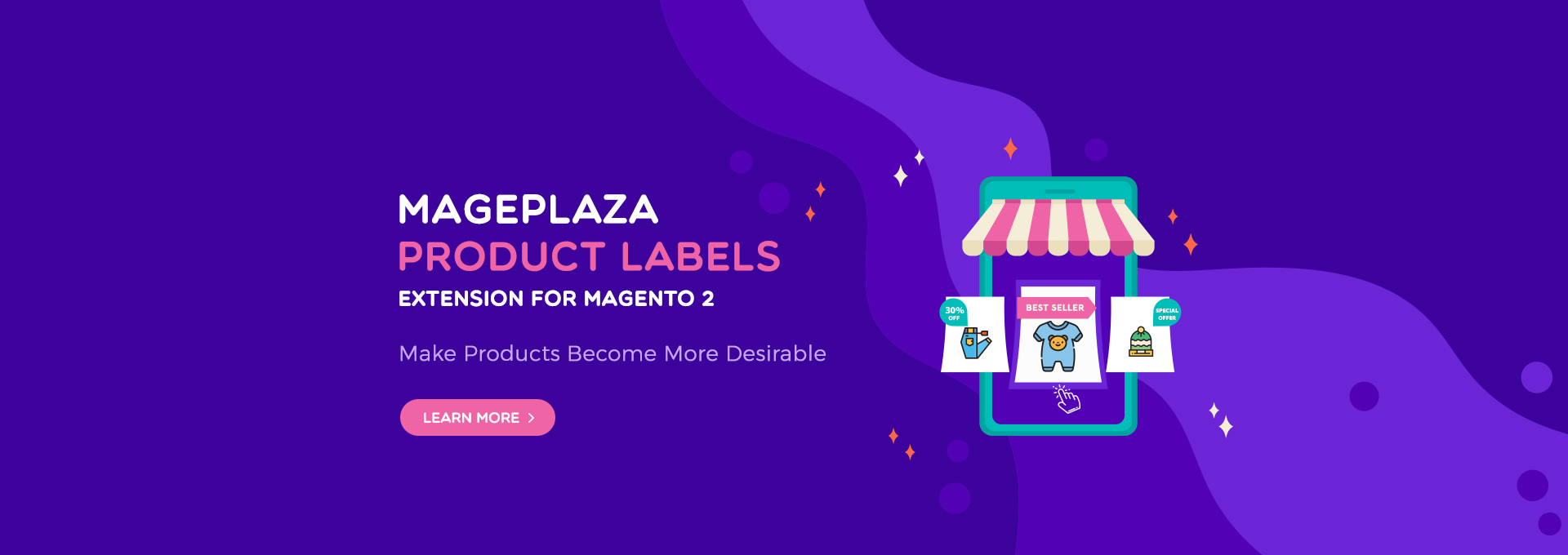 magento 2 product labels