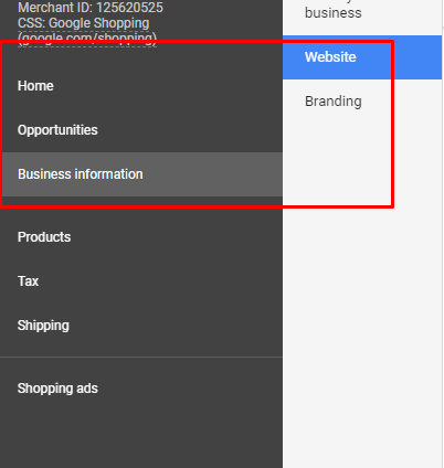 integrate google shopping 2