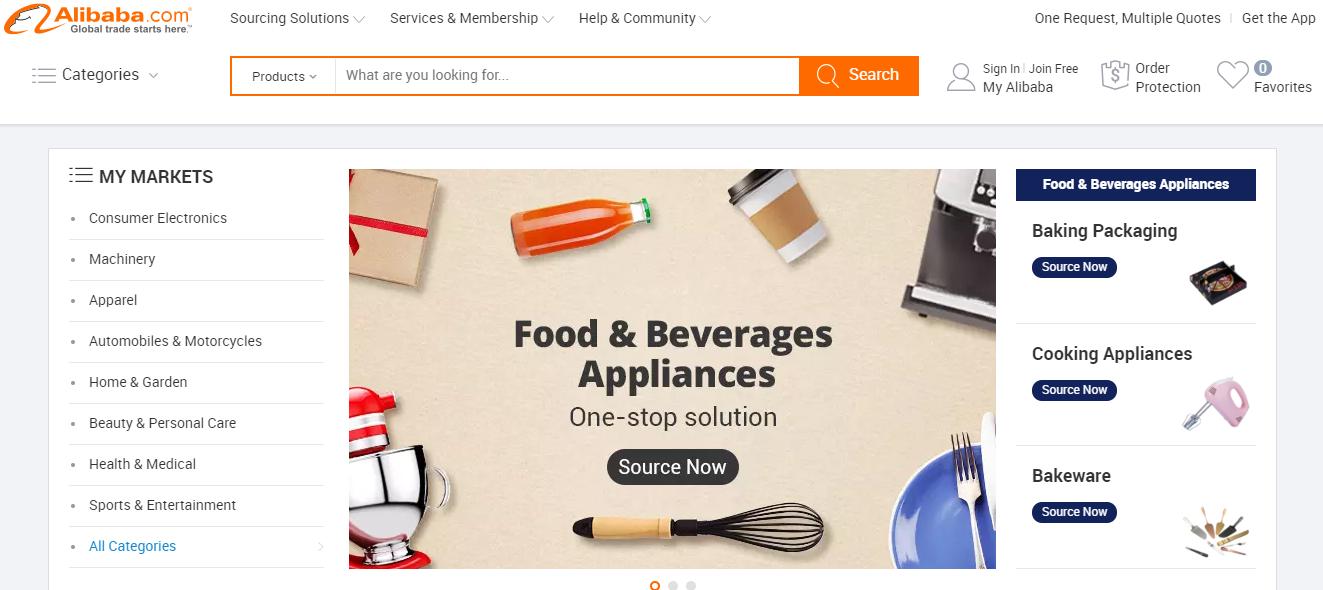 Alibaba Ecommerce Marketplace