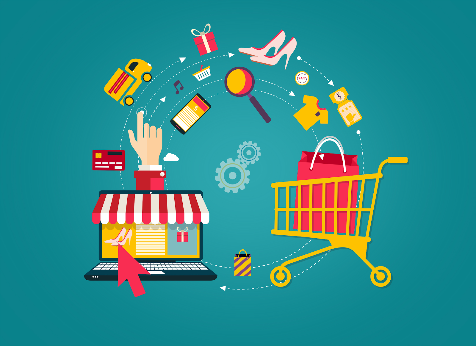 Why online stores become more and more popular