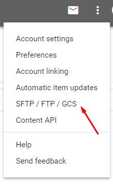 Upload google shopping feed to Google Merchant