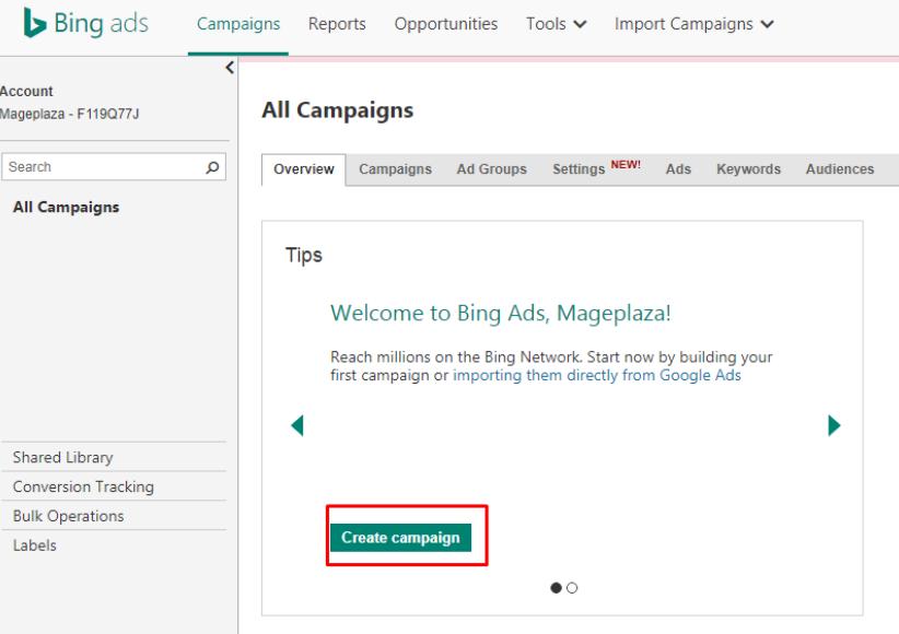 Bing Ads 8