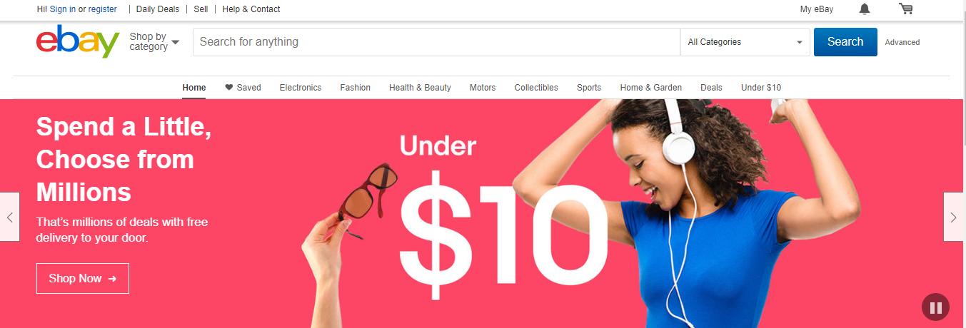 Ebay Ecommerce Marketplaces Online