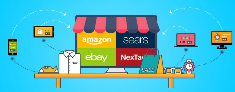 Why does the online marketplace trend develop