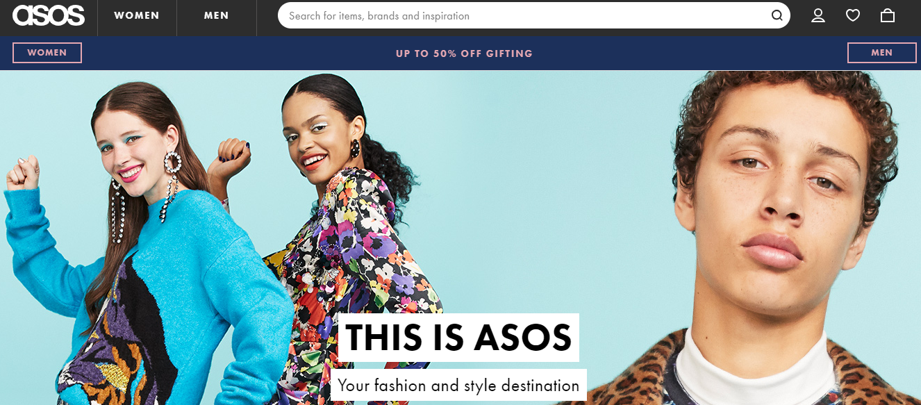 Asos Ecommerce Marketplaces Online