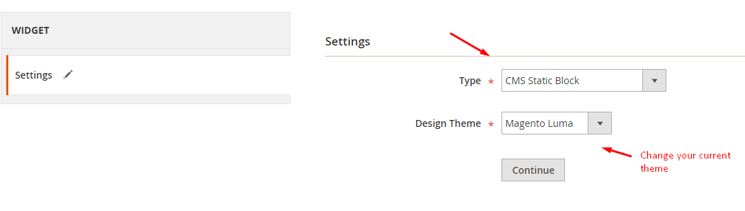Magento 2 add new widget