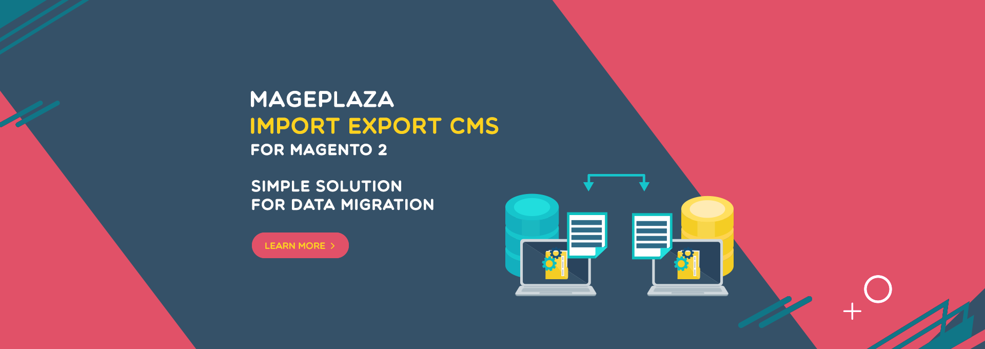 magento 2 import export cms