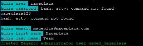 magento 2 create admin user