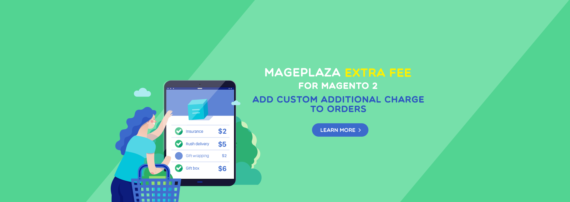 How to configure Extra Fee in Magento 2