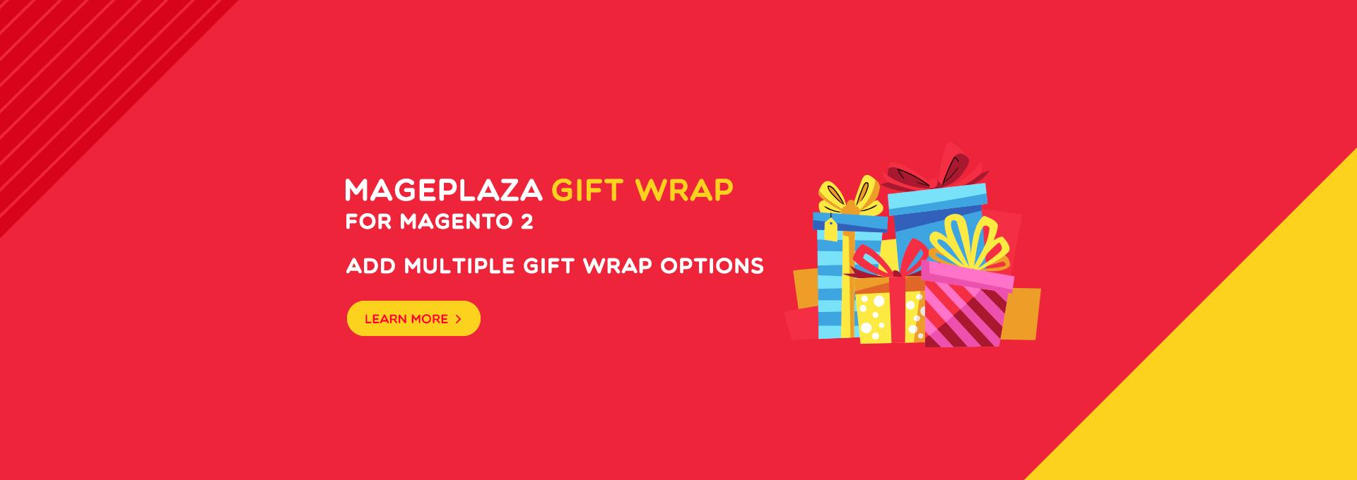 magento 2 gift wrap