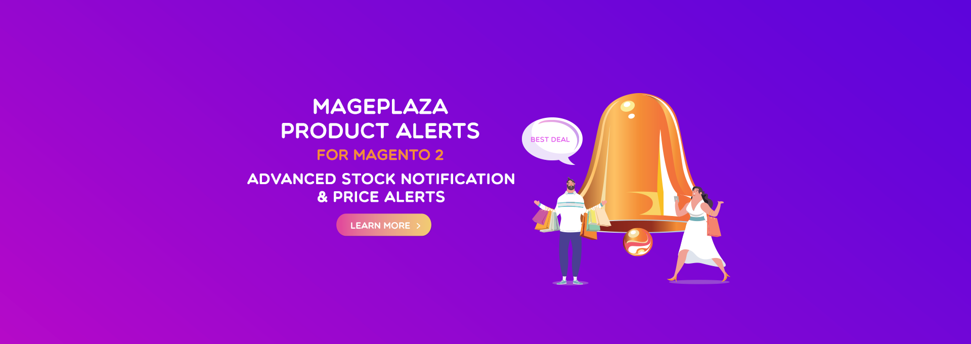Magento 2 Product Alerts - Sales Driver for Online stores