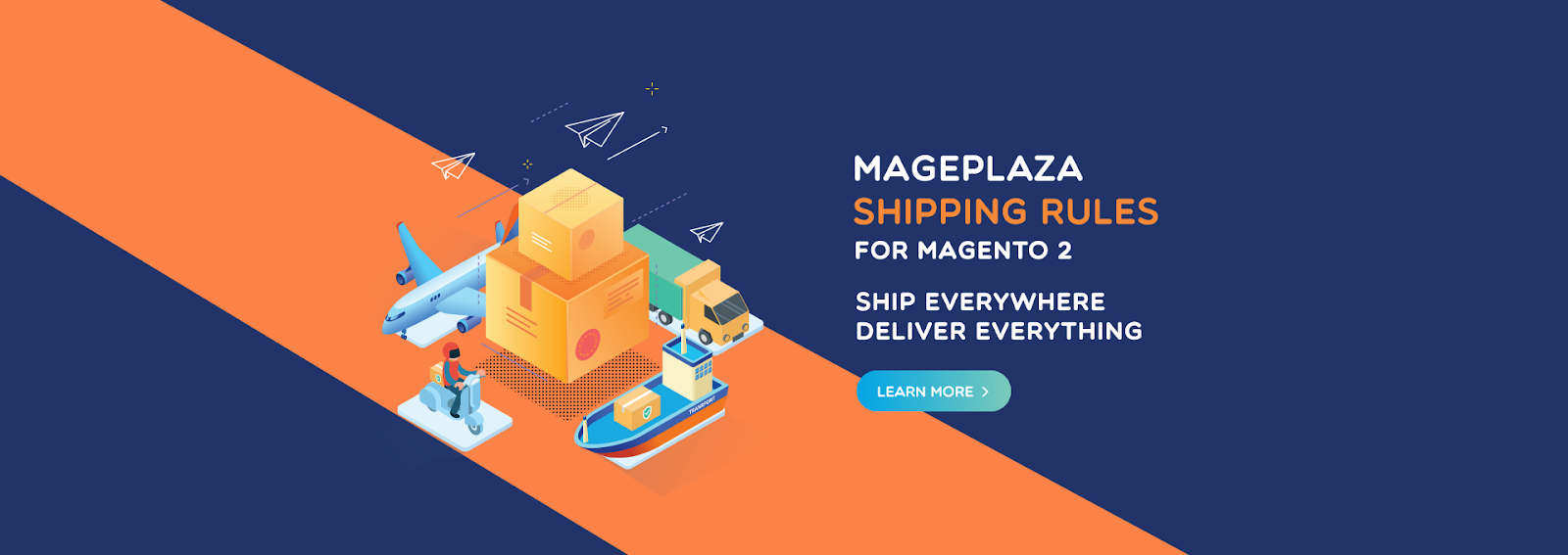 Magento 2 shipping rules extension