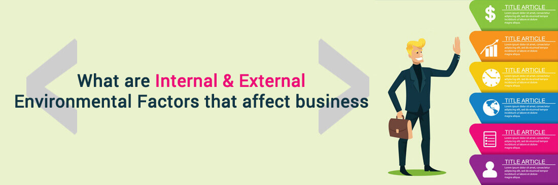 What Are Internal & External Environmental Factors That Affect Business