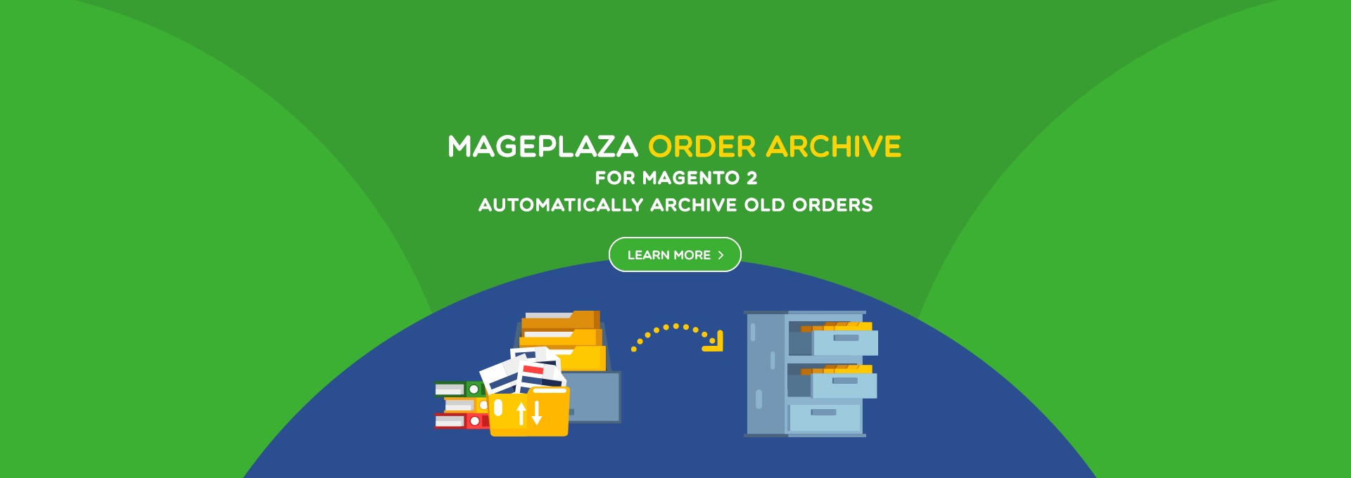 magento 2 order archive