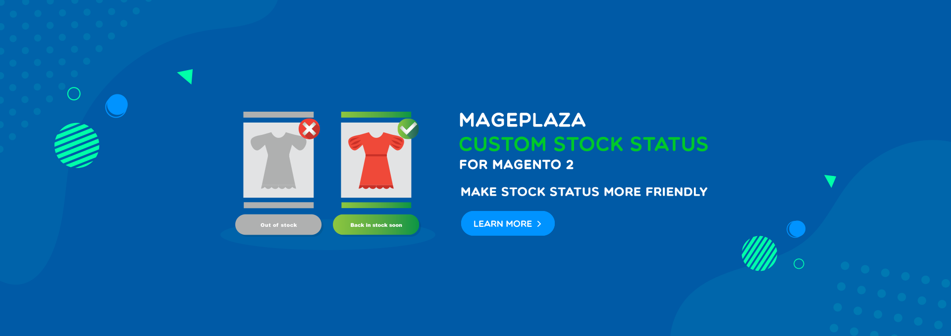 Magento 2 stores - Attract more customers by Custom Stock Status