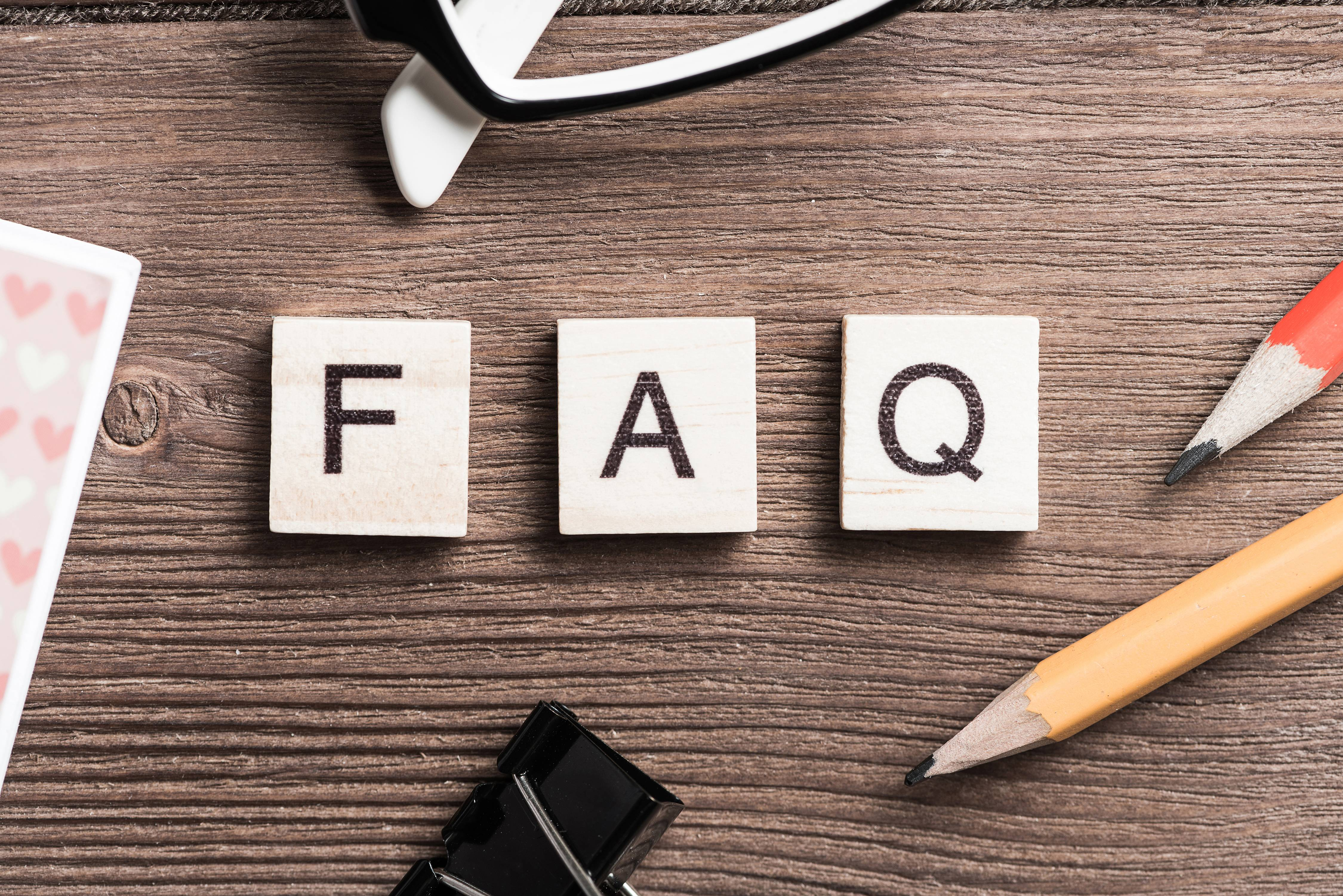 FAQ Page help Build relationships with customers