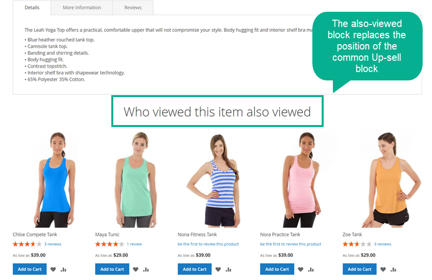 Magento 2 extension Who Viewed This Also Viewed 3