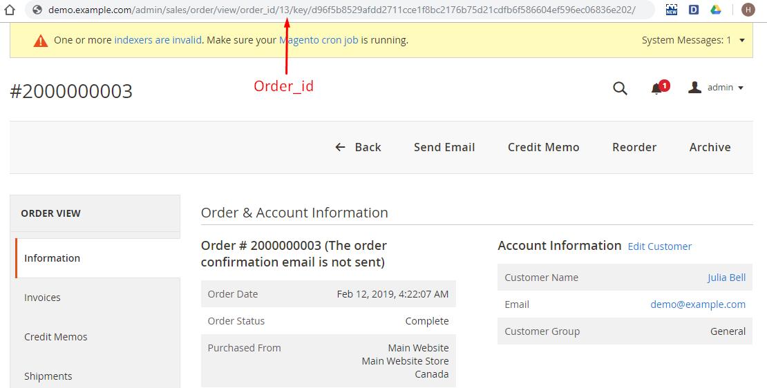 Configure Order Archive 3