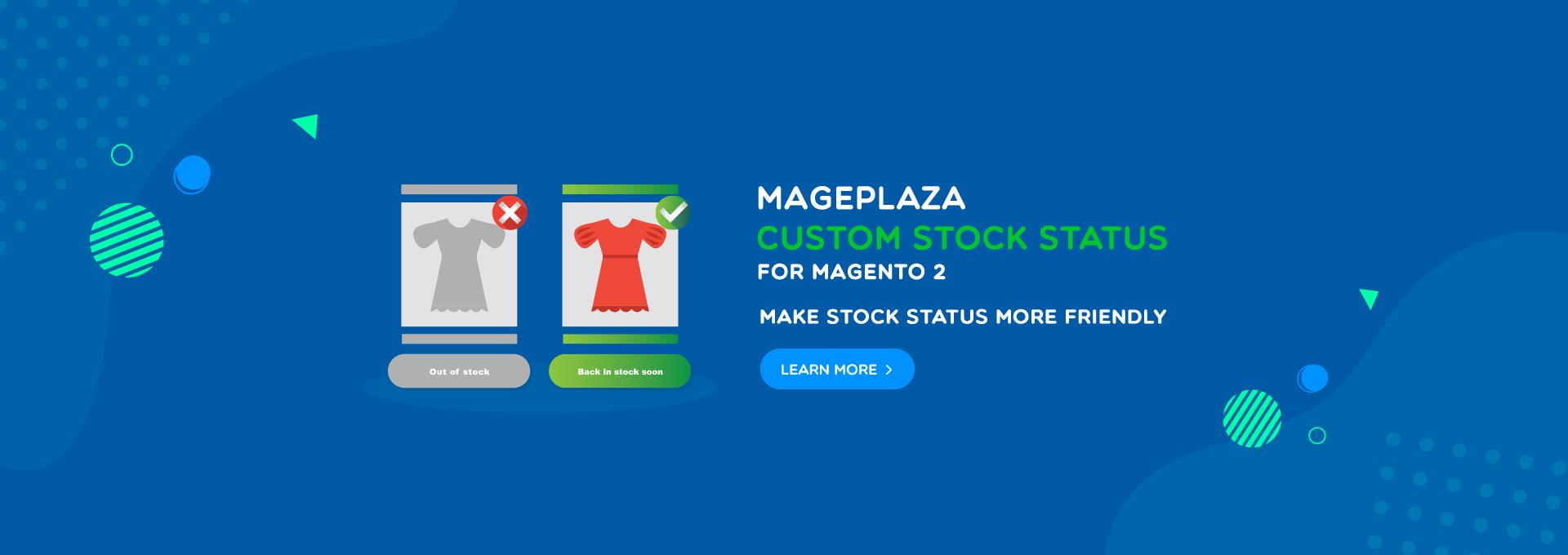 magento 2 custom stock status