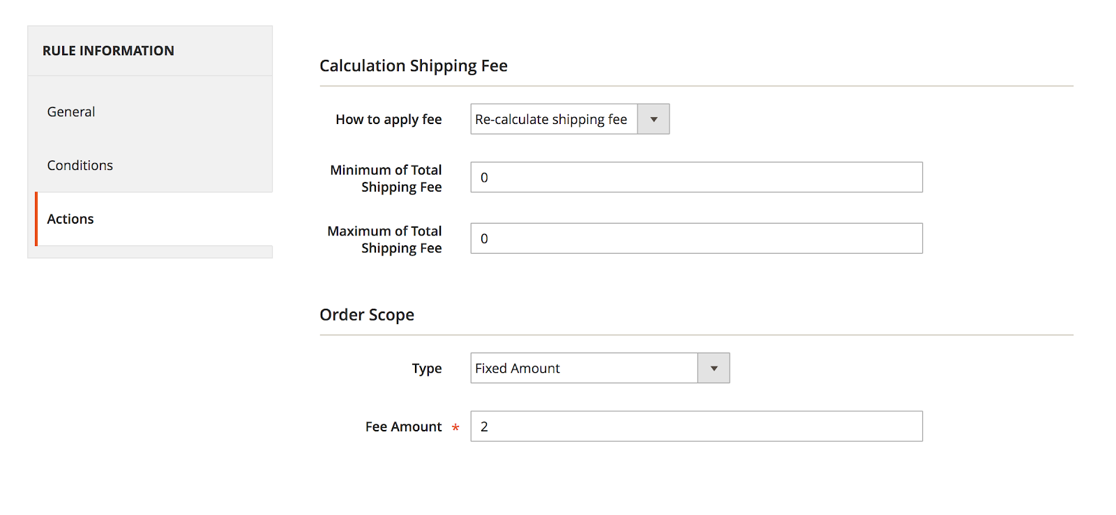 Most applicable shipping rules for Magento 2 and Configuration