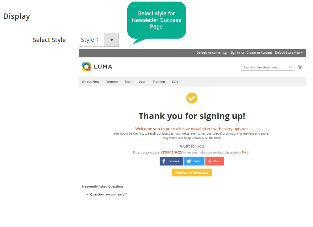 Magento 2 Thank You Page