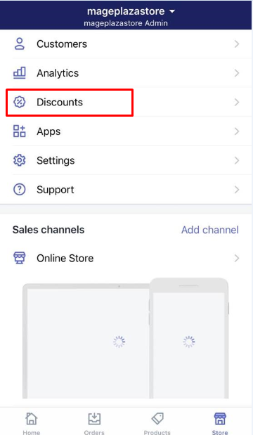 how to delete discounts