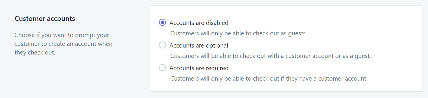 How to set your customer account preferences
