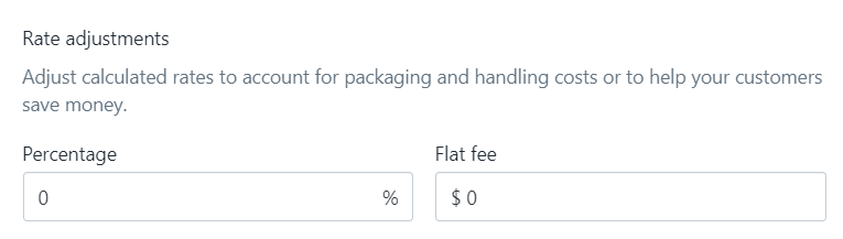 To show calculated shipping rates at checkout on Desktop 7