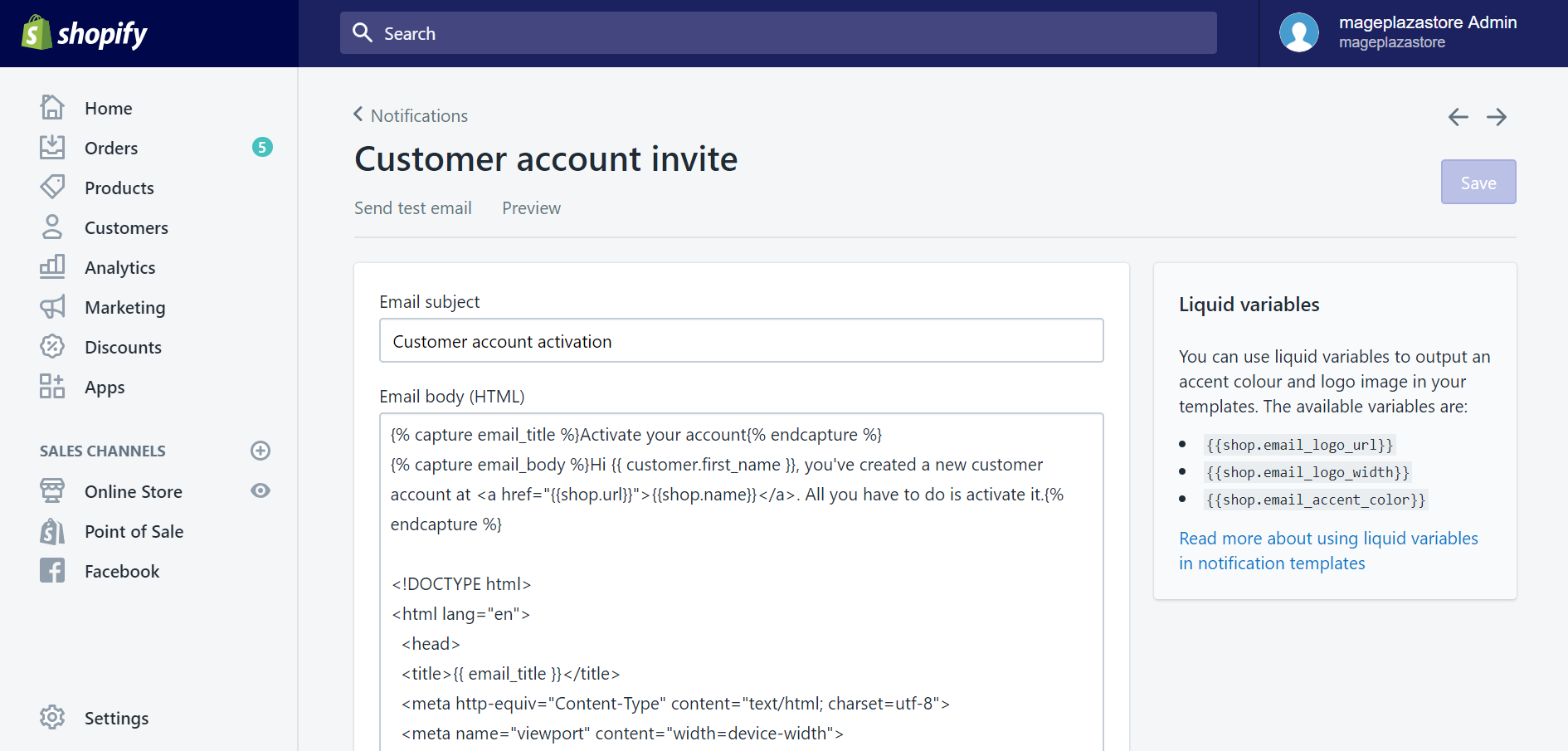 How to send individual account invites