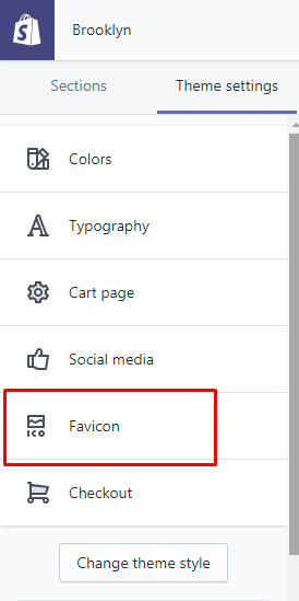 how to add a favicon to your online store