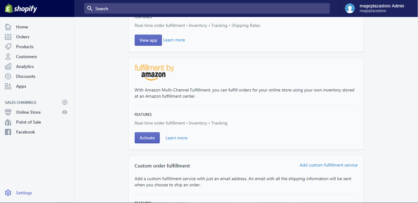 activate Fulfillment by Amazon on desktop 3