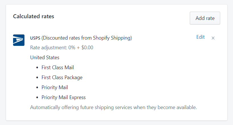 To show calculated shipping rates at checkout on Desktop 3