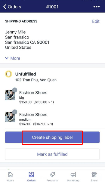 how to buy a shipping label