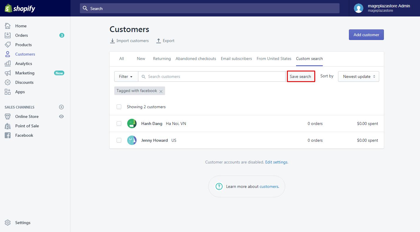 how create customer groups