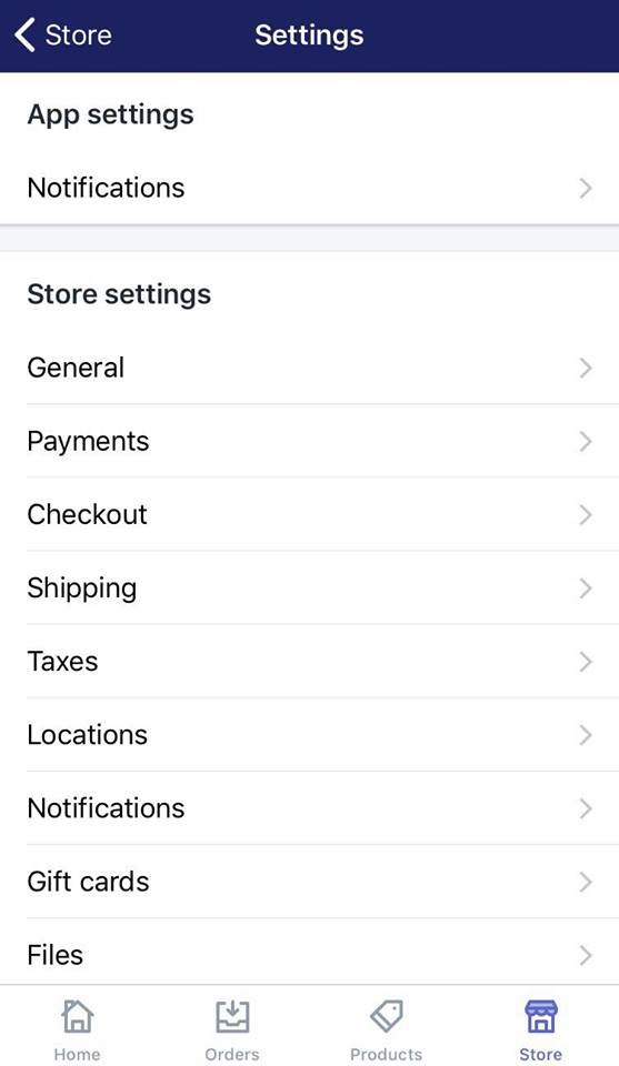 how to create a new shipping zone on Shopify on iphone 2