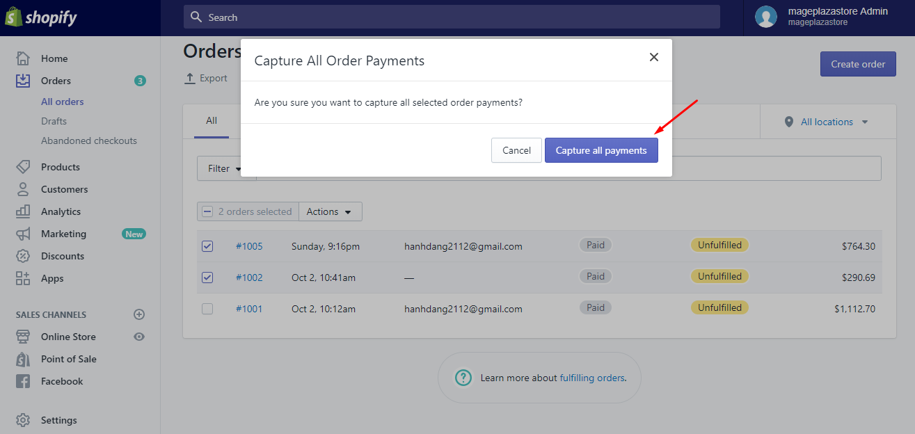 How to capture a single payment manually on desktop 4