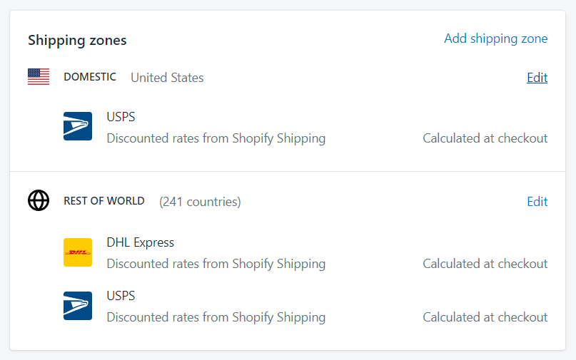 To show calculated shipping rates at checkout on Desktop 2