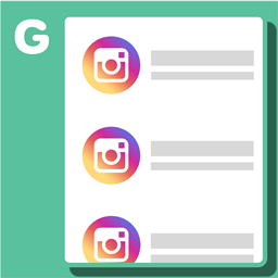Shopify Instagram app by Gatsby